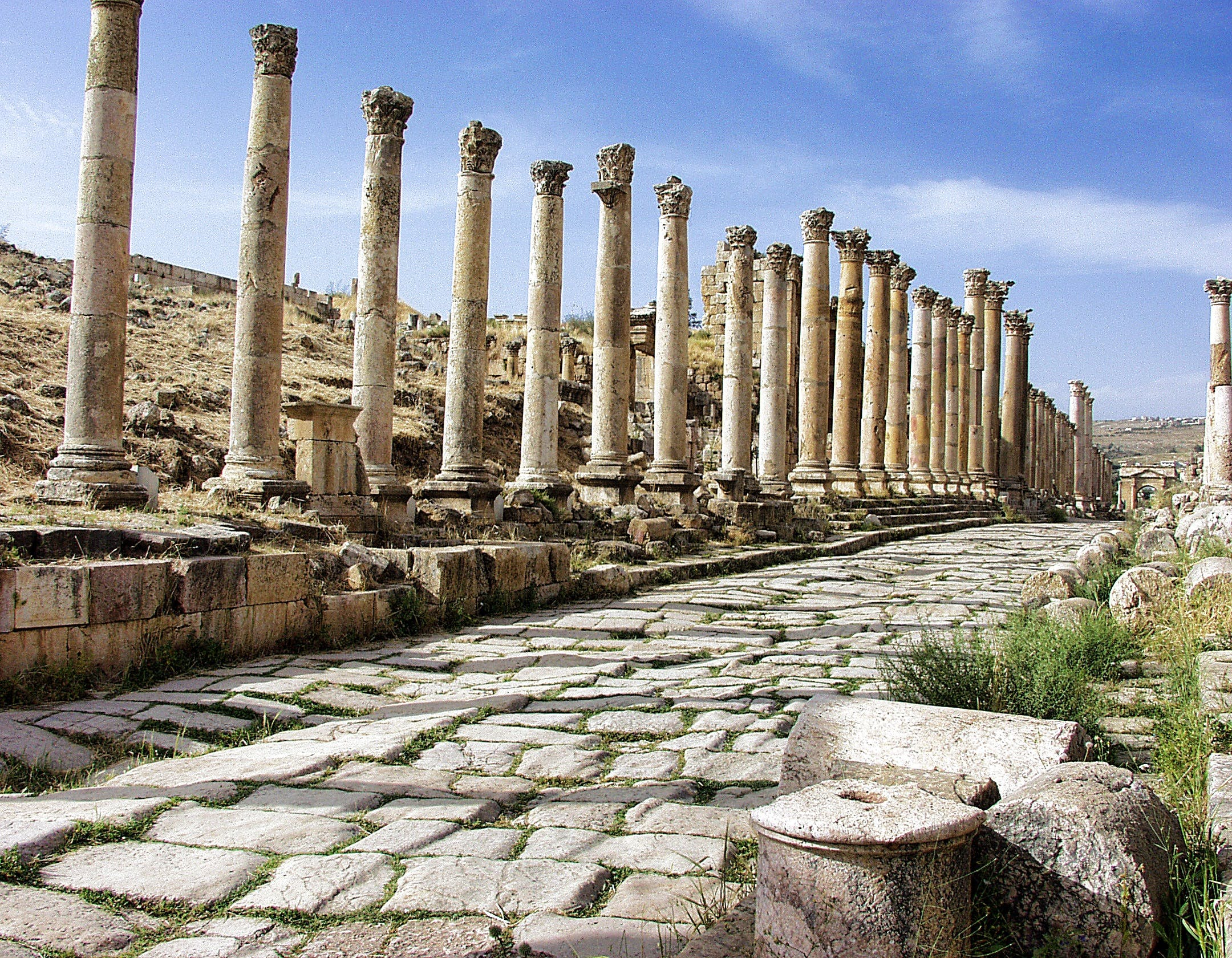 Landscape Photography of Columns