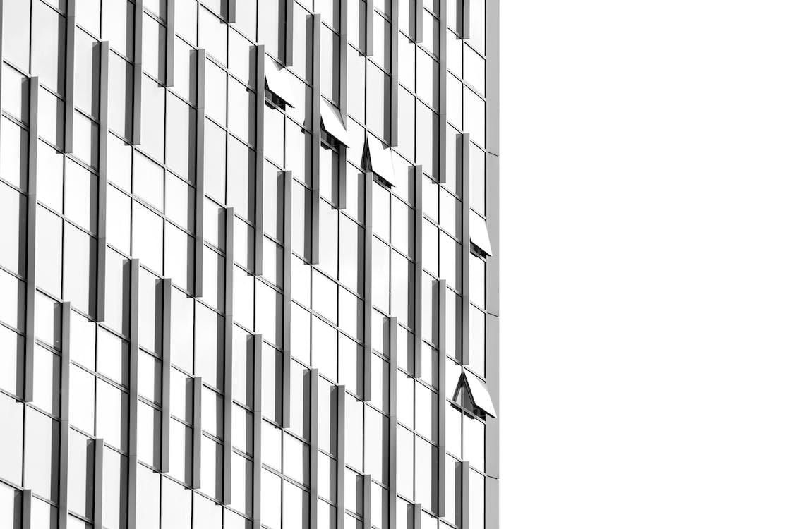 aço, aparência, arquitetura
