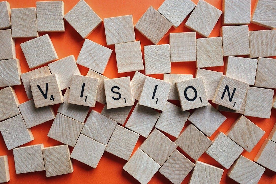 Vision Scrabble Blocks