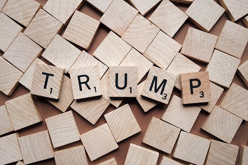 Trump Scrabble Tile