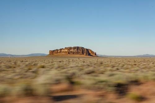Free stock photo of cowboy, desert, fort rock