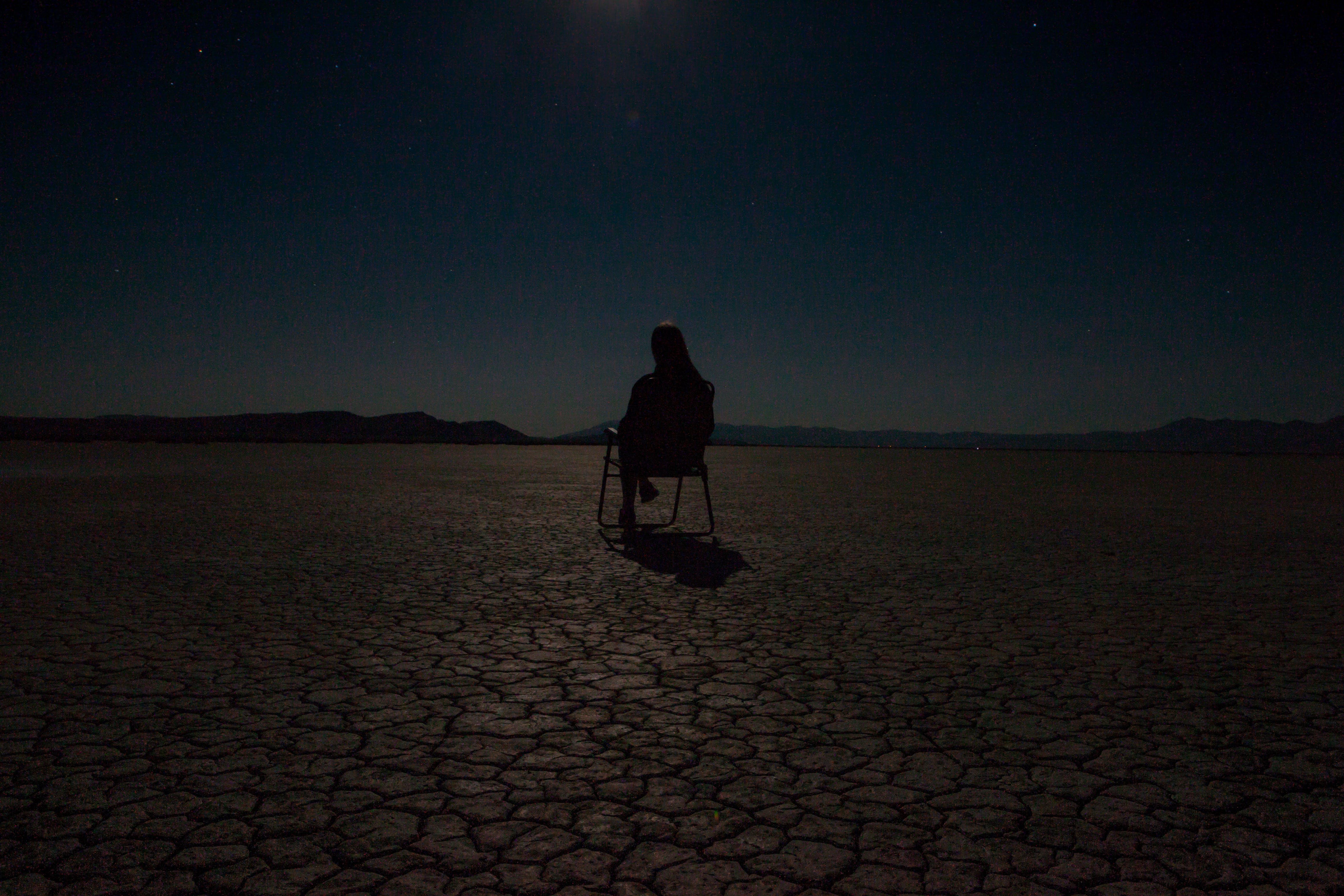 Free stock photo of amazing, chair, desert, landscape