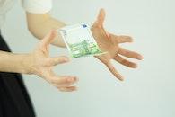 hands, blur, money