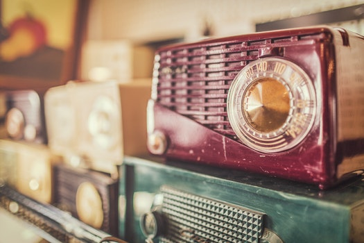 Free stock photo of vintage, radios