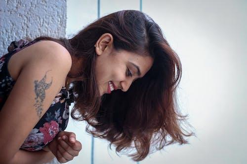 Free stock photo of beautiful woman, female portrait, love, portrait