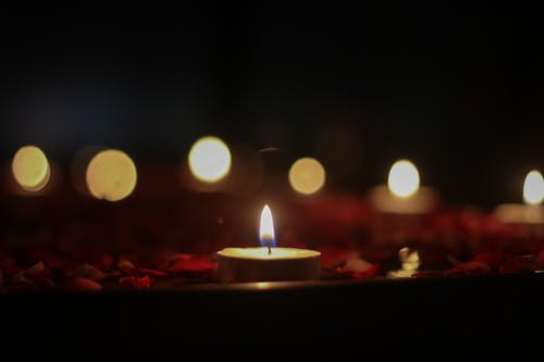 Free stock photo of burning candle, candle lights, candles, love