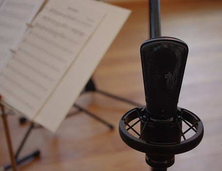 Free stock photo of technology, music, black, business