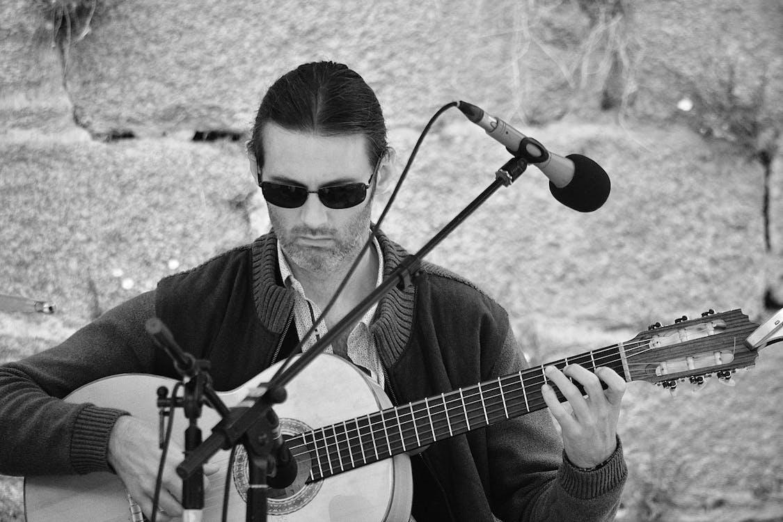 adam, gitar, gitarist