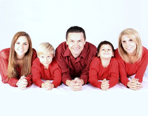 Five Person Wearing Red Shirt