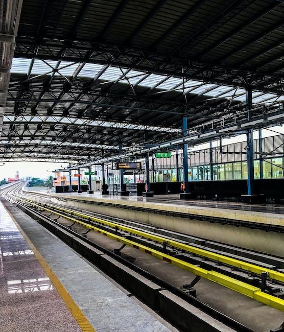New free stock photo of blur, public transportation, station