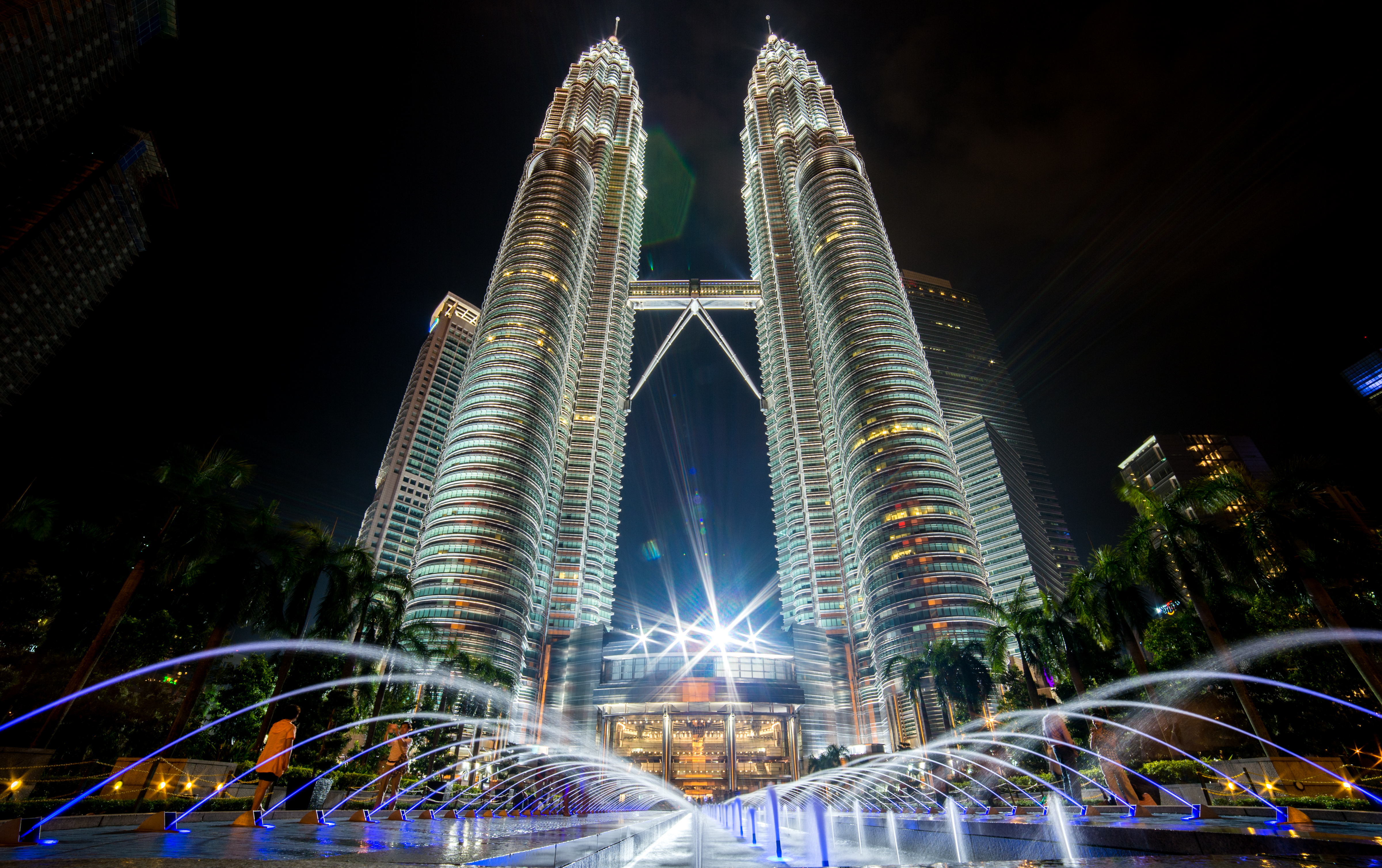 Free stock photo of city, landmark, lights, night