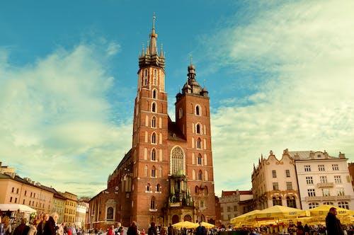 Kostenloses Stock Foto zu cracow, gebäude, kirche, krakow