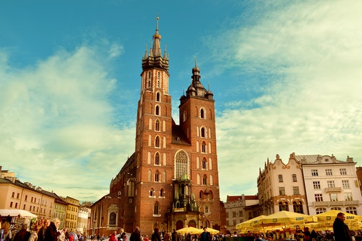 Free stock photo of city, buildings, church, poland