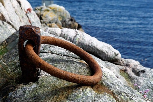 Free stock photo of mooring, rusted