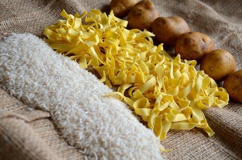Základová fotografie zdarma na téma brambory, jídlo, rýže, těstoviny
