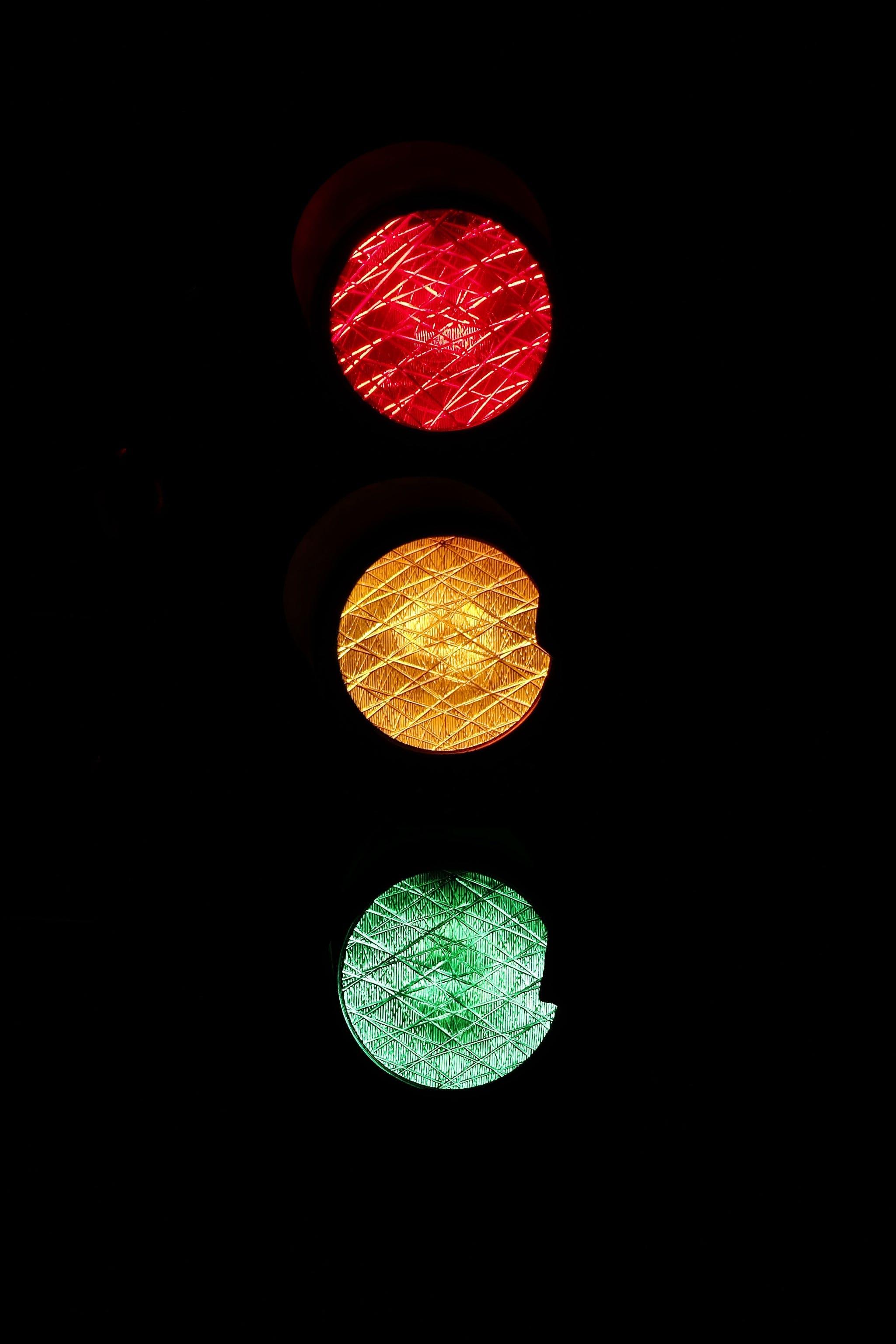 lys, lyssignal, rødt lys