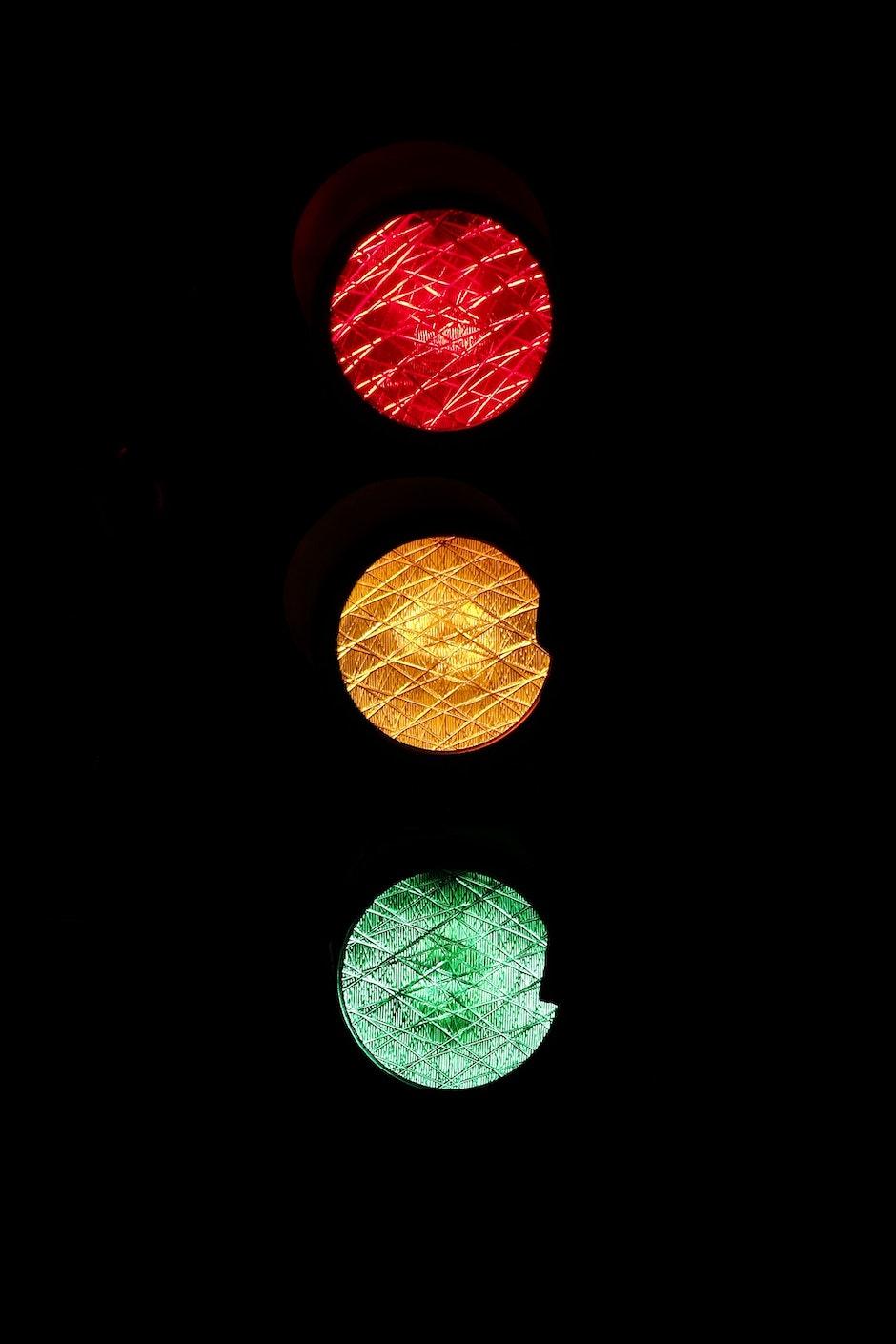 light, light signal, road sign