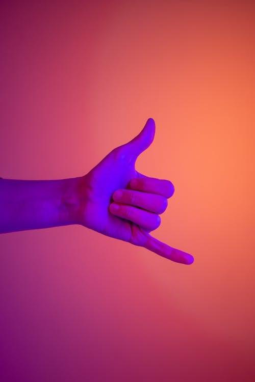 Immagine gratuita di arte al neon, chiamami, comunicazione