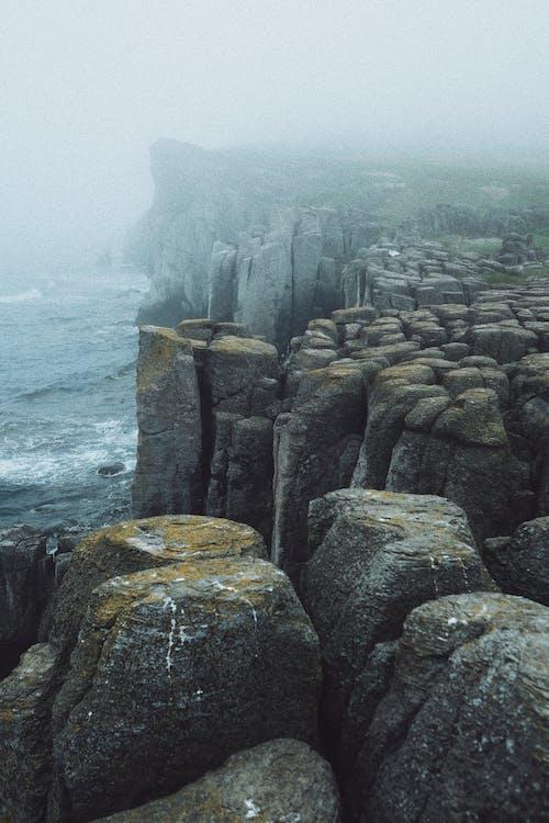 Photos gratuites de ancien, aube, blocs, bord de mer