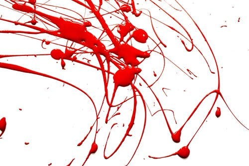 Photo Of Red Paint Splashes