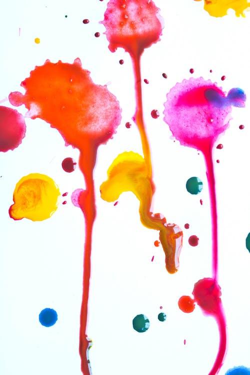 Close-Up Photo Of Paint Colors