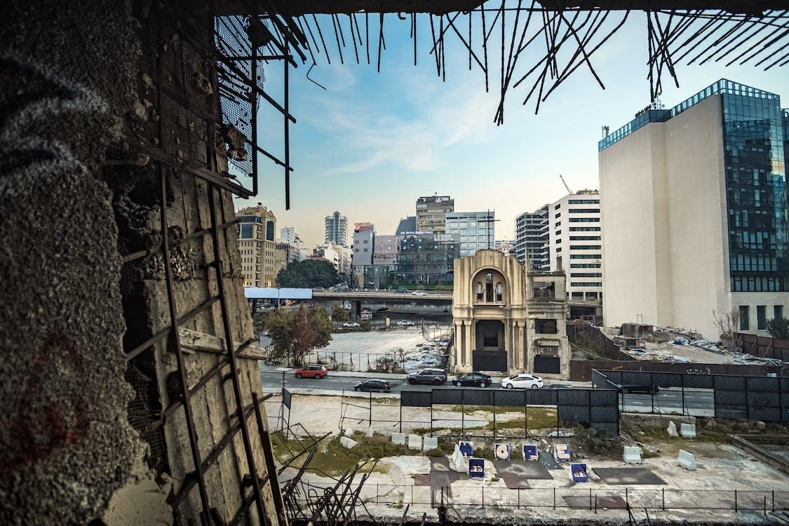 Photos gratuites de bâtiment, bâtiment ancien, beyrouth