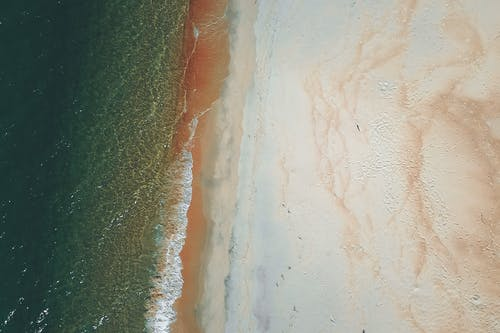 Bird's Eye View Of Beach