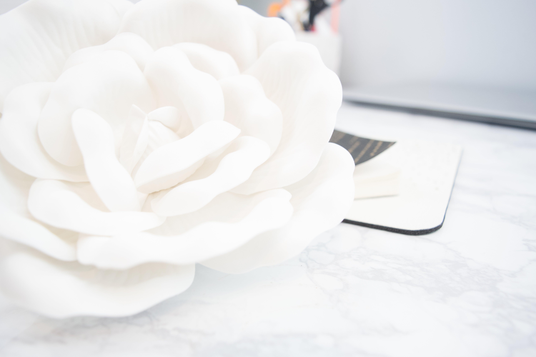 White Artificial Flower Decor