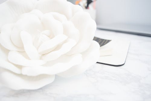 White Artificial Flower Decor