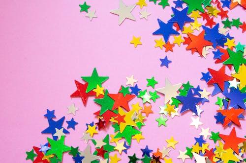 Colorful Stars Confetti
