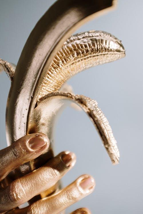 Close-Up Photo Of Golden Banana