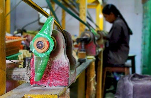 çiğ, endüstriyel makineler, Hindistan, kırmızı içeren Ücretsiz stok fotoğraf