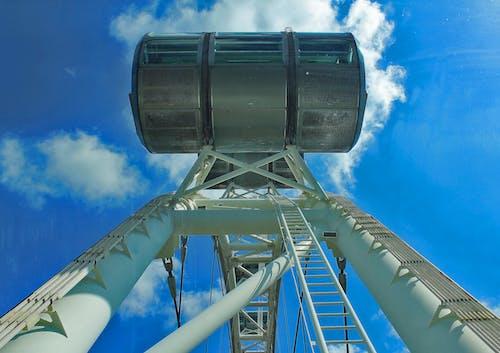 Imagine de stoc gratuită din albastru, cer, flyer, nori