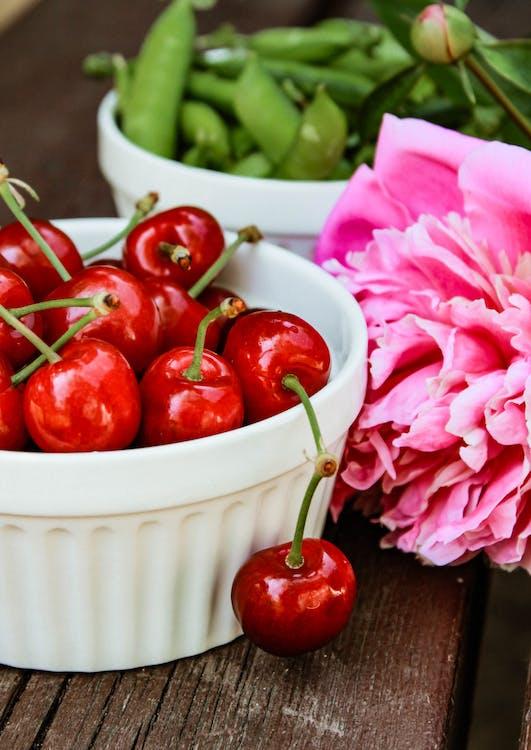 Бесплатное стоковое фото с витамины, вишни, вкусный