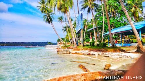 Foto stok gratis manokwari, pantai mansinam, papua barat, pulau mansinam
