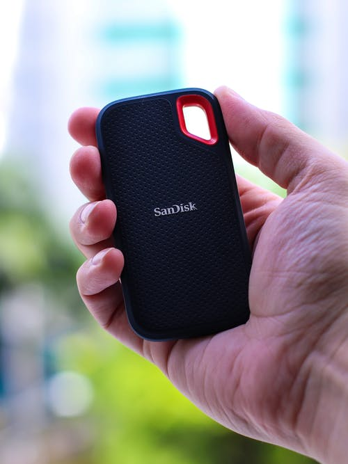 Black and Red Samsung Smartphone