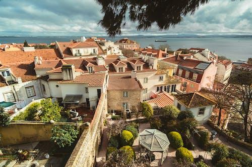 Bird's Eye View Of Residential Houses