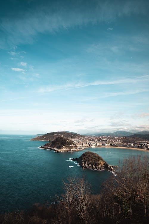 Blue Sea Under Blue Sky