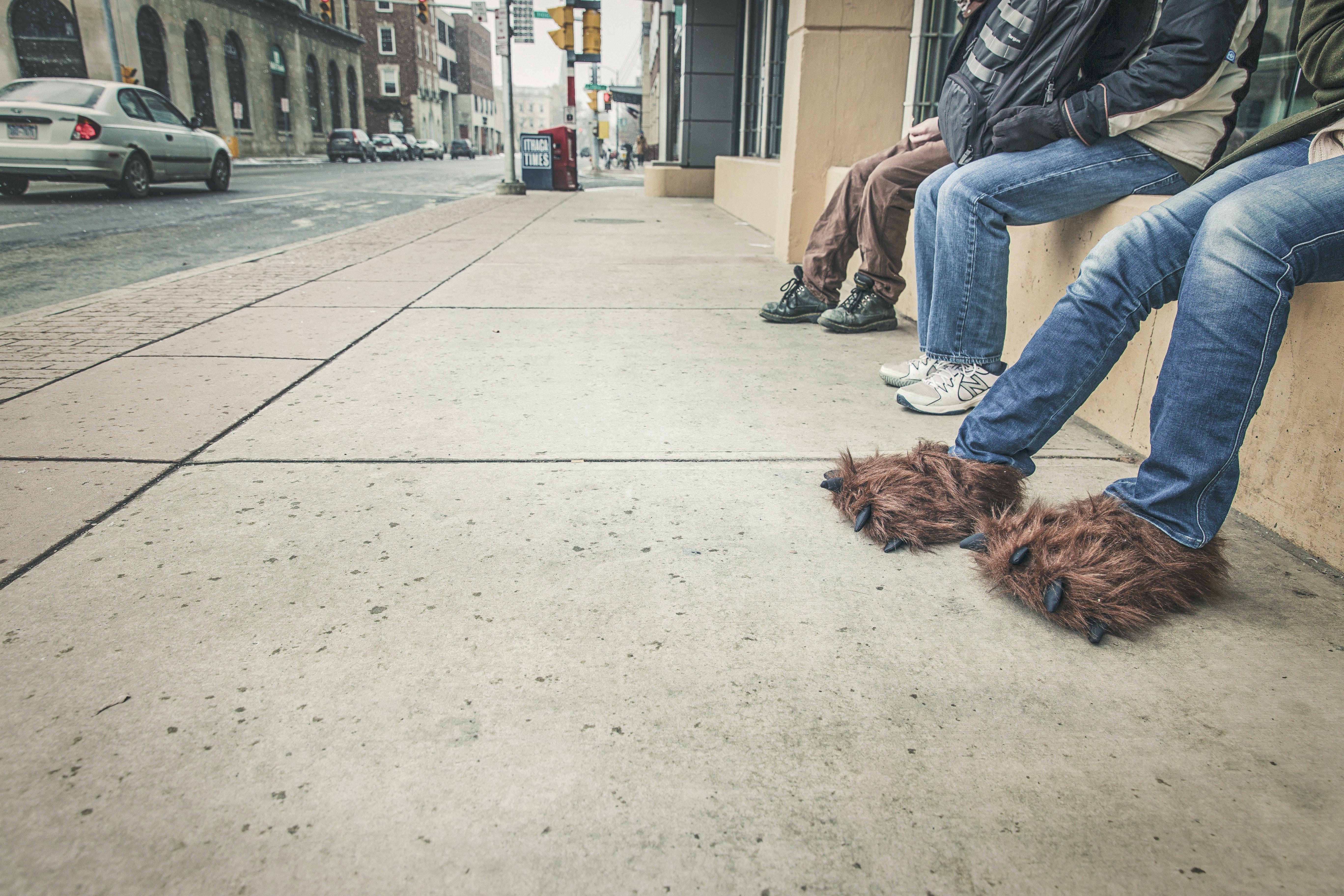 Free stock photo of people, street, sidewalk, jeans