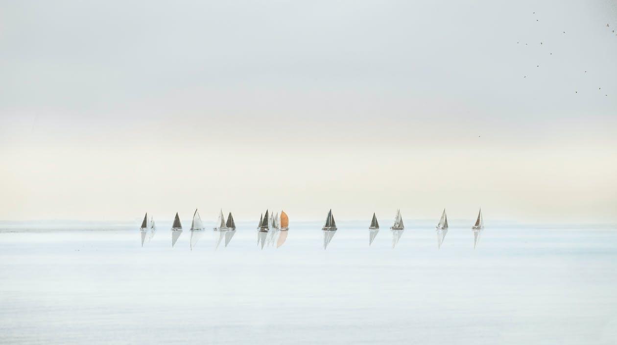 Photo Of Sailboats On Sea
