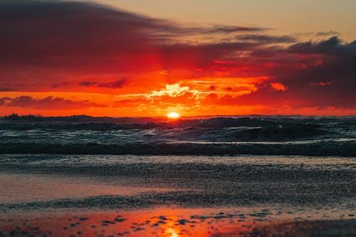 Free stock photo of beach, beach sunset, beautiful landscape