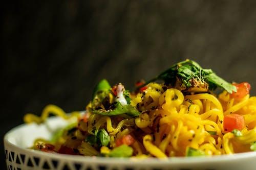 Close-Up Photo Of Noodles