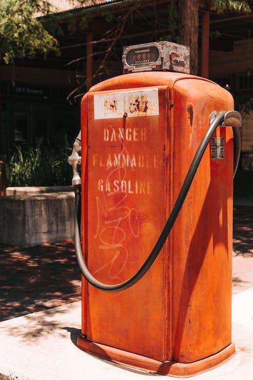 Orange and White Water Heater