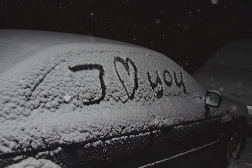 Free stock photo of car, cars, cold, dark
