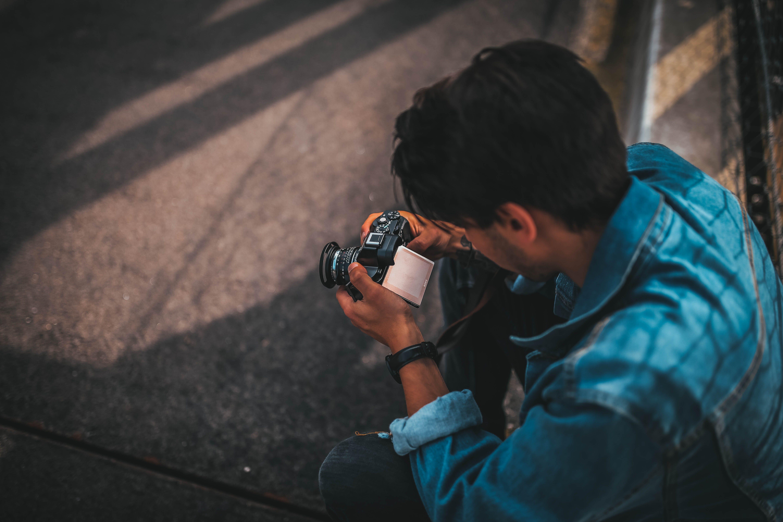 Imagine de stoc gratuită din acțiune, adult, aparat de fotografiat, aptitudine