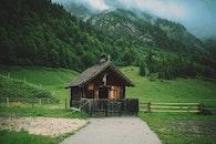 wood, landscape, field