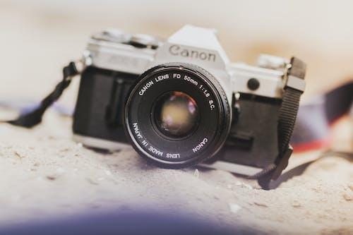 Gratis stockfoto met analoge camera, camera, cameralens, close-up