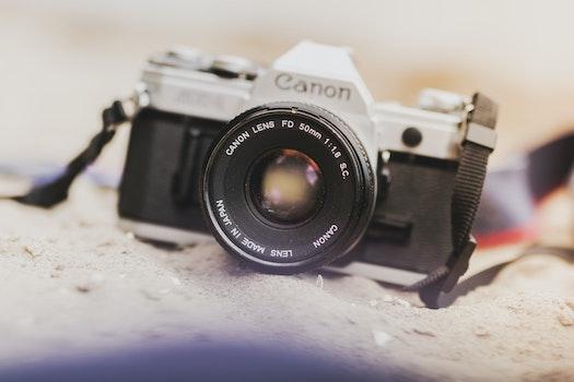Kostenloses Stock Foto zu sand, kamera, linse, verschwimmen