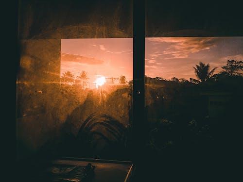Free stock photo of Beautiful sunset, early sunrise, Golden rays, golden sunset