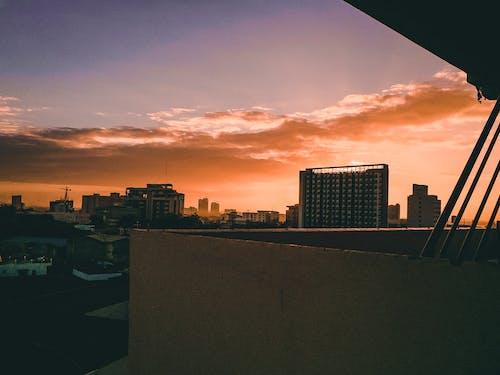 Free stock photo of beautiful sky, beauty of nature, Colorful sky, early sunrise
